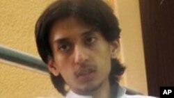 Le blogueur et militant libéral saoudien Raïf Badaoui (AP)