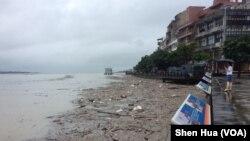 暴雨袭击北台湾