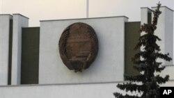 러시아 모스크바의 북한 대사관. (자료사진)