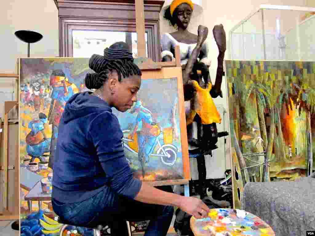 Rhodes Makoumbou au Congo-Brazzaville le