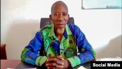 Arão Bula Tempo, presidente do Movimento de Reunificação do Povo de Cabinda
