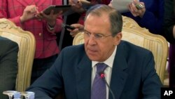 Menlu Rusia Sergei Lavrov mengatakan Moskow tidak berencana menjual sistem pertahanan udara canggih kepada Suriah (foto: dok).