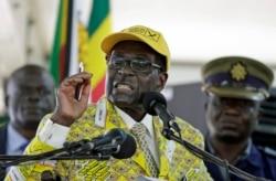 President Mugabe Addressing Zimbabweans At Heroes Acre