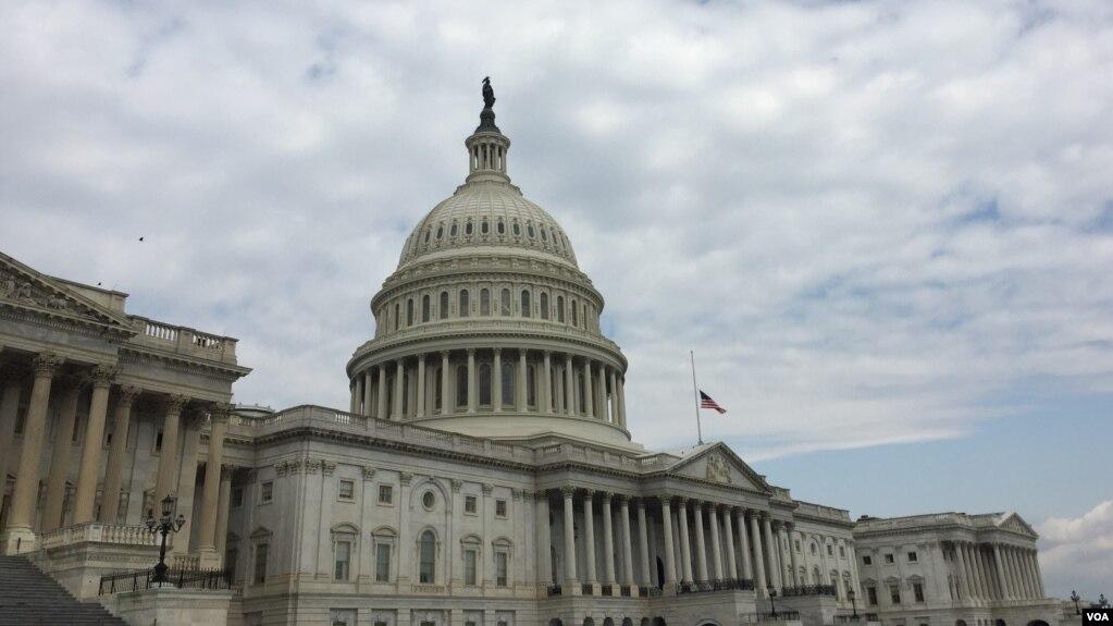 美國國會大廈(美國之音)