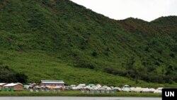 ရခိုင္ျပည္နယ္ေျမာက္ပိုင္း ဘူးသီးေတာင္ တေနရာ (file photo)
