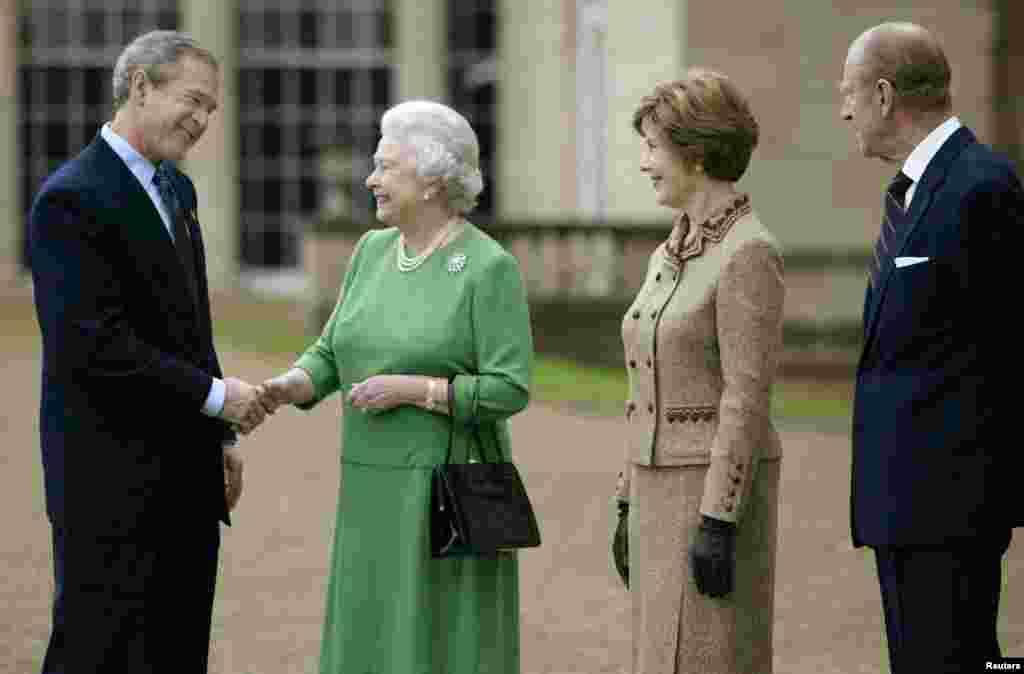 შეხვედრა პრეზიდენტ ბუშთან (უმცროსი), 2003 წ.