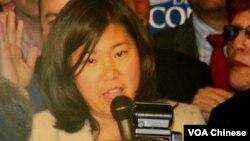 Anggota Partai Demokrat dari New York Grace Meng adalah sponsor RUU yang disahkan Obama Senin 23/5 (foto: dok).