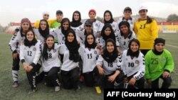 بازیکنان تیم ملی فوتبال بانوان افغانستان