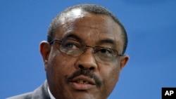 Le Premier ministre éthiopien Hailemariam Desalegn, 3 décembre 2014.