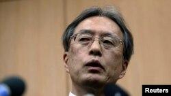 unichi Ihara, diplomat tertinggi Jepang urusan Asia.