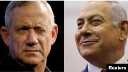 Benny Gantz dan PM Benjamin Netanyahu (foto: dok).