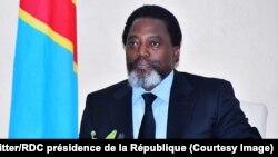 Le président congolais Joseph Kabila à Kinshasa, 7 mars 2018. (Twitter/RDC présidence de la République)