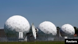 A general view of the large former monitoring base of the U.S. intelligence organization National Security Agency (NSA) in Bad Aibling south of Munich, June 18, 2013.