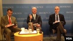 Yerel seçimlerin ele alındığı toplantı Brookings Enstitüsü'nde yapıldı