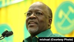 Tanzania's president-elect John Pombe Magufuli