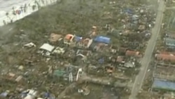 Relief Efforts Underway in Devastated Philippine Areas