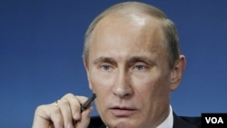 Perdana Menteri Rusia Vladimir Putin