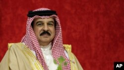 Bahrain's King Hamed bin Isa Al Khalifa (file photo)