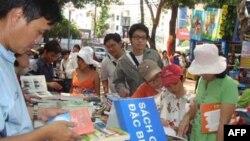 Một góc của Hội Sách Sài Gòn