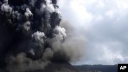 Núi lửa Manaro ở Vanuatu.