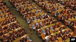 Sudionici međunarodnog skupa o ostvarivanju 'milenijskih ciljeva' koji je u Ujedinjenim narodima održan u rujnu prošle godine