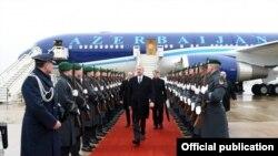 Prezident İlham Əliyev Almaniyada səfərdədir