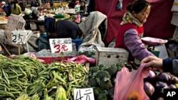 中国农贸市场(资料照)