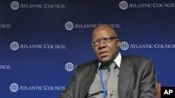 "Zimbabwe Finance Minister Tendai Biti called for what he called ""strategic engagement"" from countries like the United States to help his country both economically and politically."