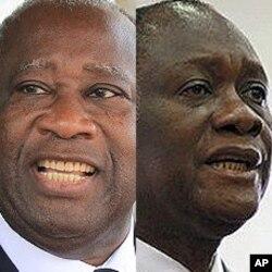 Gbagbo, Outtara