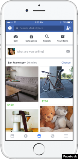 Facebook is launching a new service called Marketplace