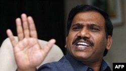 Cựu Bộ trưởng Viễn thông Ấn Độ A. Raja