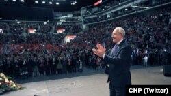 CHP Genel Başkanı Kemal Kılıçdaroğlu Düsseldorf'ta