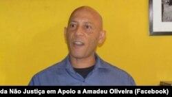 Le député Amadeu Oliveira du parti de l'Union cap-verdienne indépendante et démocratique (UCID).