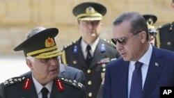 ترکی:عسکری قیادت کے مستعفی ہونے کے بعد بھی تشویش برقرار