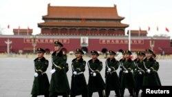 北京天安门广场(资料图片)。