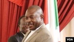 Pierre Nukuruziza, président du Burundi