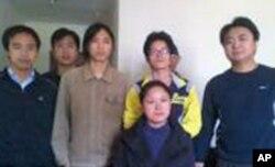 重阳节探访小组部分成员出发前合照