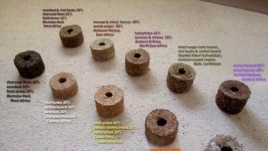 Briquettes (courtesy: Legacy Foundation)