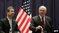 Министры обороны Японии и США Тошими Китадзава и Роберт Гейтс