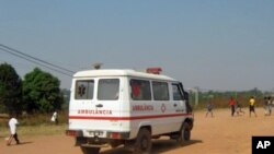 A única ambulância que serve o Hospital de Malanje