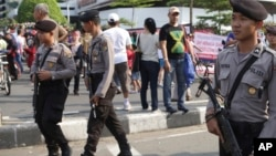 印尼警察(资料照片)