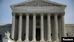 Gedung Mahkamah Agung AS di Washington DC (foto: dok).
