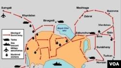 20 Yanvarda Sovet qoşunlarının Bakıya hücum planı