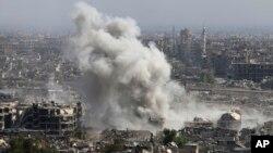 مقامات در کریملن می گویند که رؤسای جمهور روسیه و فرانسه در مبارزه با گروه داعش بر همکاری نزدیک موافقه کرده اند