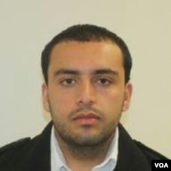 美国新泽西州警察局9月19日发布的与纽约和新泽西炸弹爆炸有关的艾哈迈德·拉哈米的照片