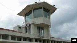 Torre de controle do aeroporto de Malanje