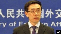 中国外交部发言人刘为民(资料照)