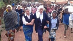 Reportage d'Ernest Muhero, correspondant à Bukavu pour VOA Afrique