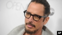 """Chris Cornell at the premiere of """"The Promise"""" in New York City, April 18, 2017."""