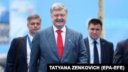 Президент Порошенко на саміті НАТО в Брюсселі 12 липня 2018р.